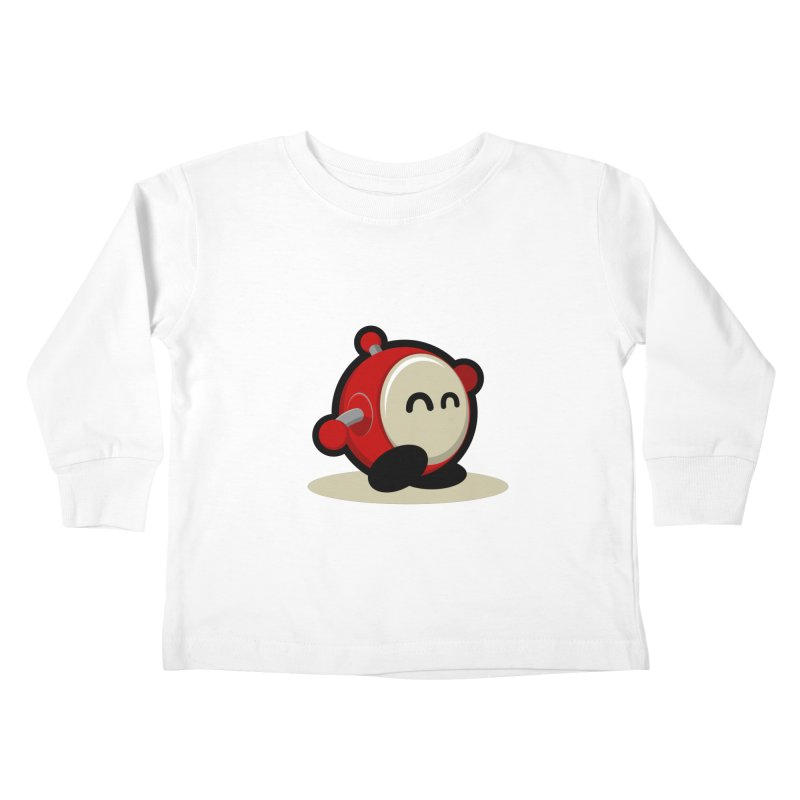 bobo the robo Kids Toddler Longsleeve T-Shirt by bobo the robo shop