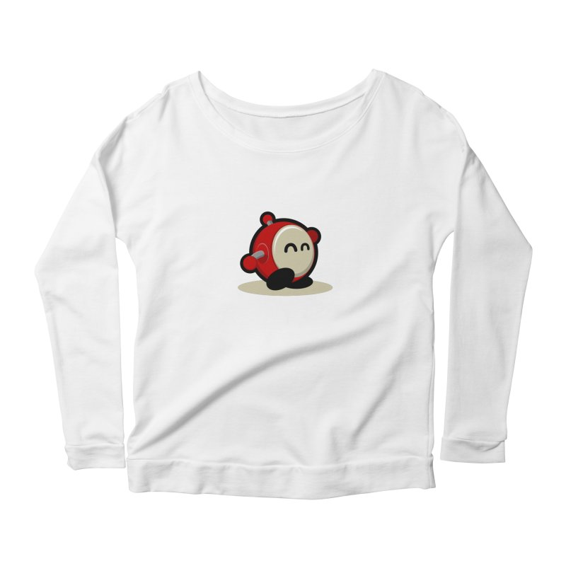 bobo the robo Women's Scoop Neck Longsleeve T-Shirt by bobo the robo shop