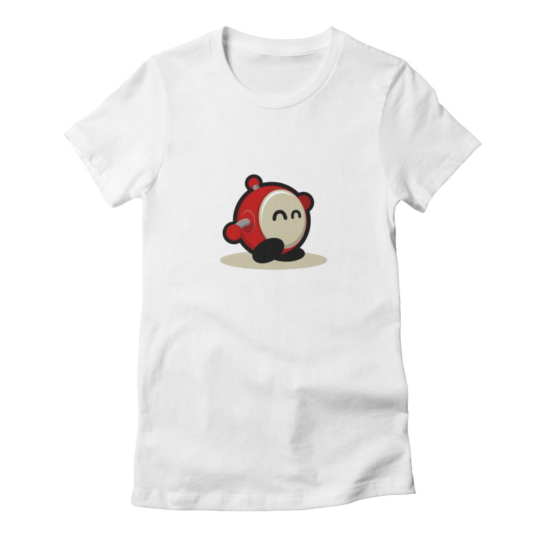 bobo the robo Women's Fitted T-Shirt by bobo the robo shop