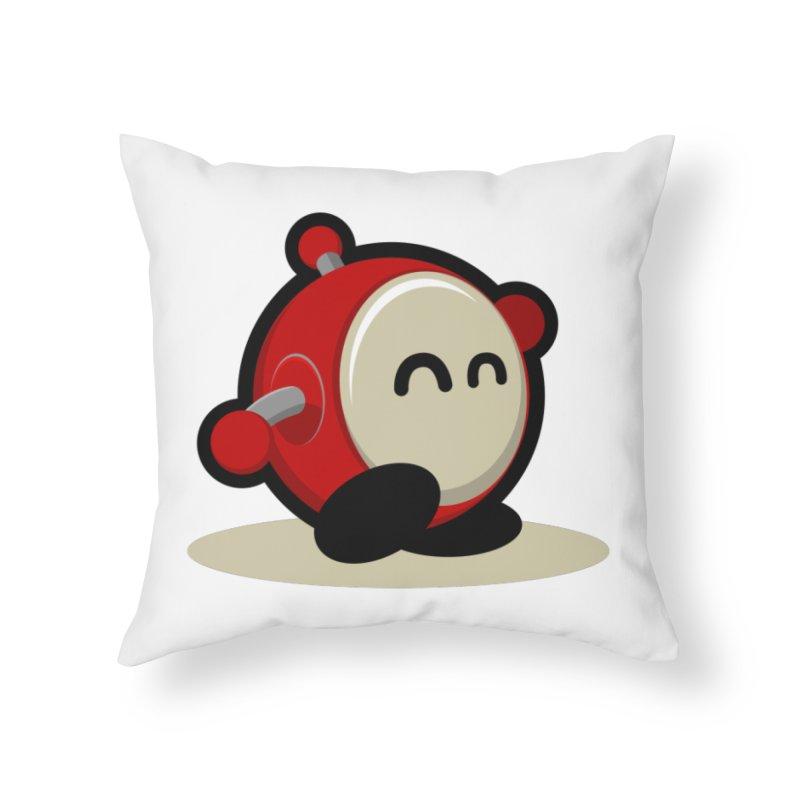 bobo the robo Home Throw Pillow by bobo the robo shop