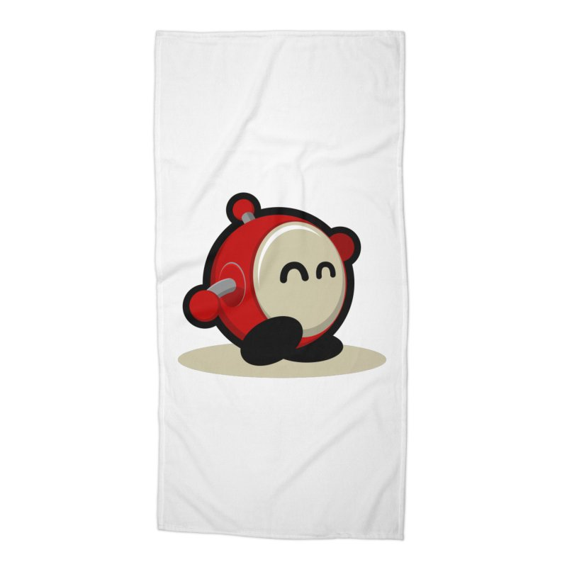 bobo the robo Accessories Beach Towel by bobo the robo shop