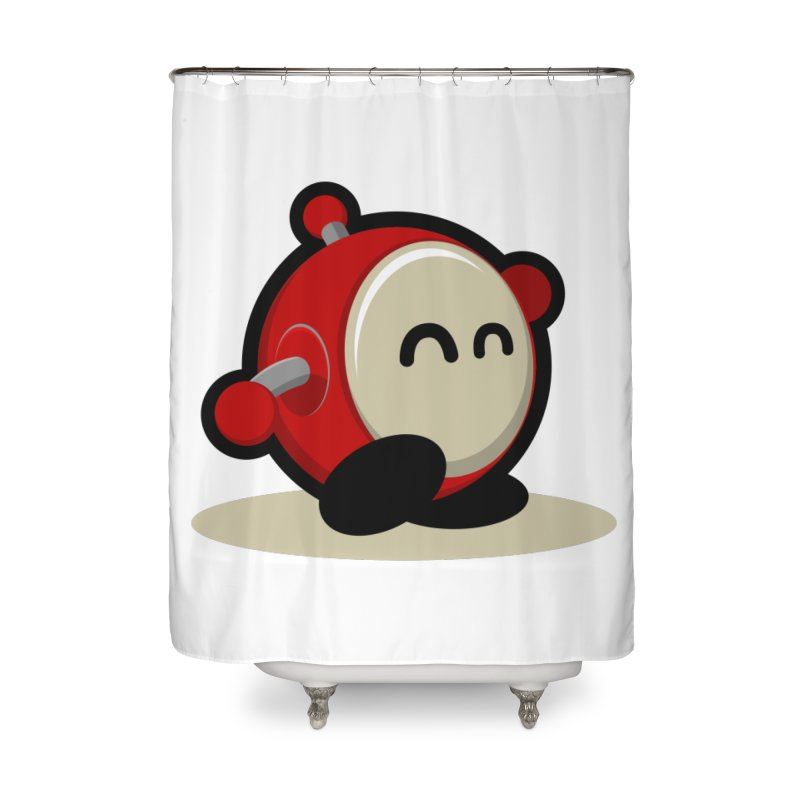 bobo the robo Home Shower Curtain by bobo the robo shop