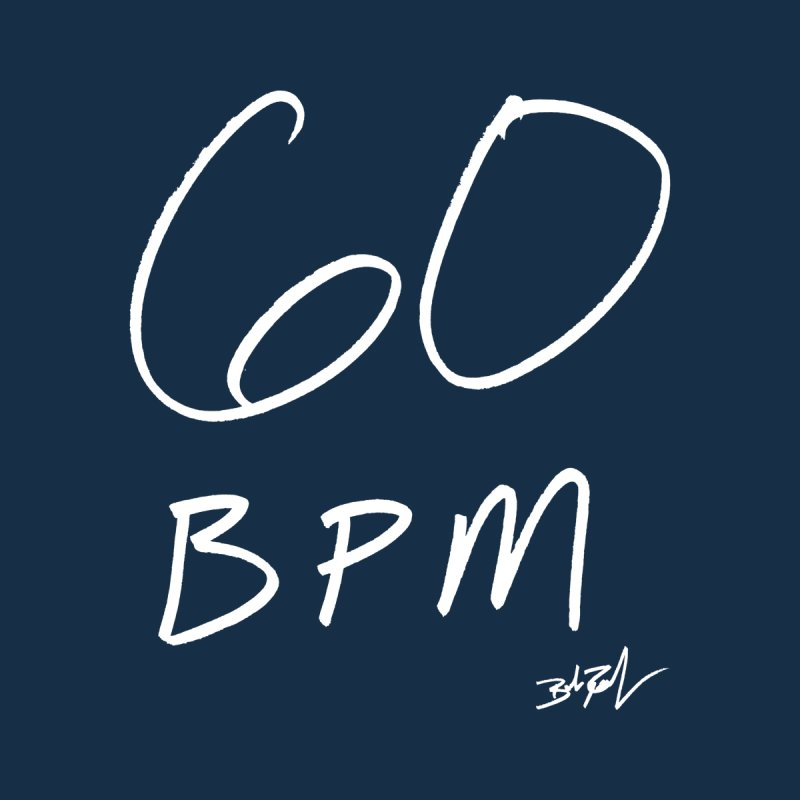 60 bpm Men's Heavyweight T-Shirt by