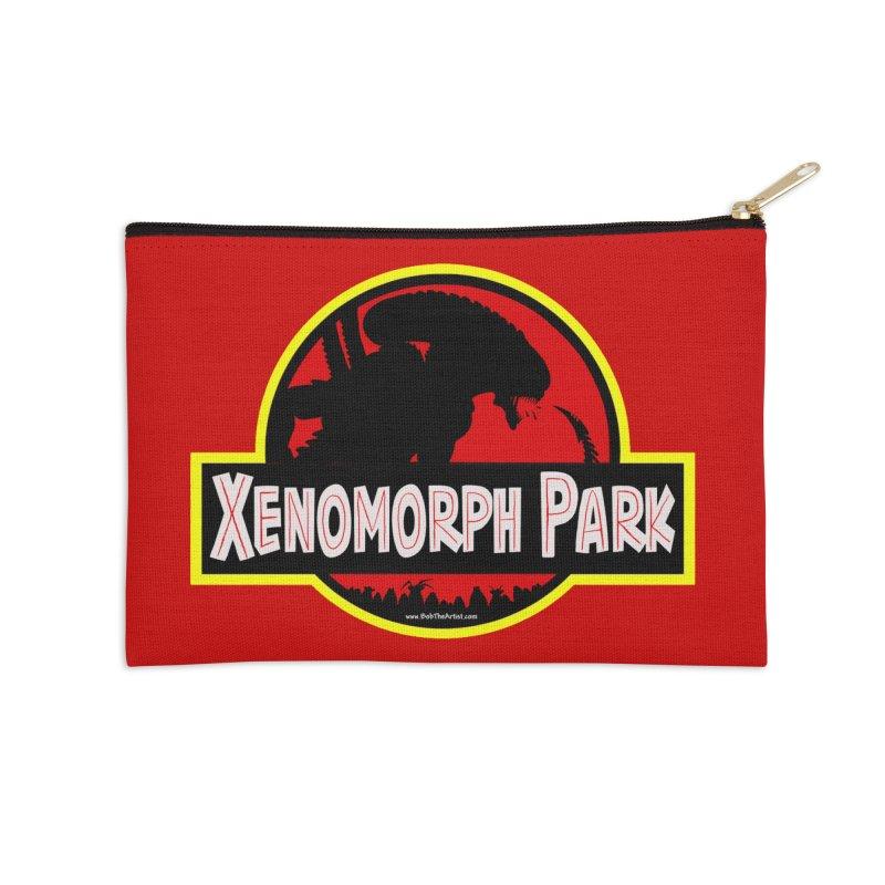 Xenomorph Park Accessories Zip Pouch by bobtheTEEartist's Artist Shop