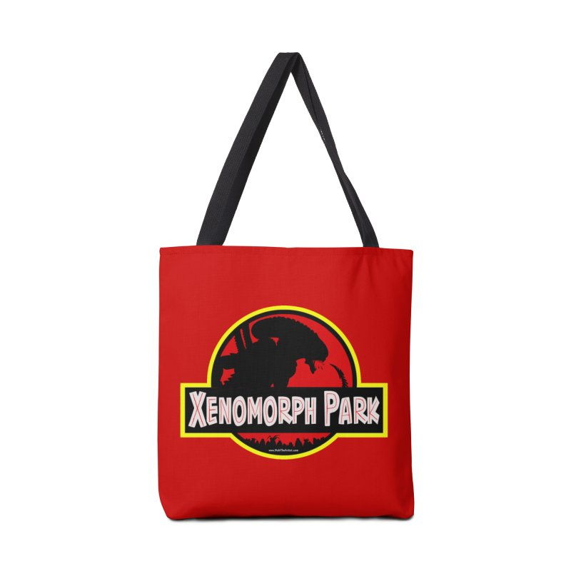 Xenomorph Park Accessories Bag by bobtheTEEartist's Artist Shop