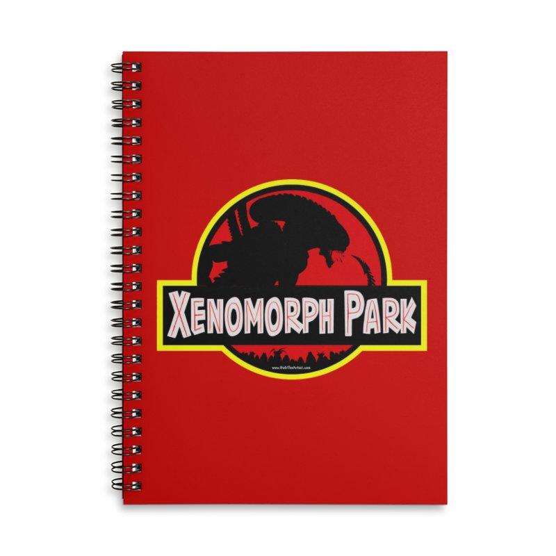 Xenomorph Park Accessories Notebook by bobtheTEEartist's Artist Shop