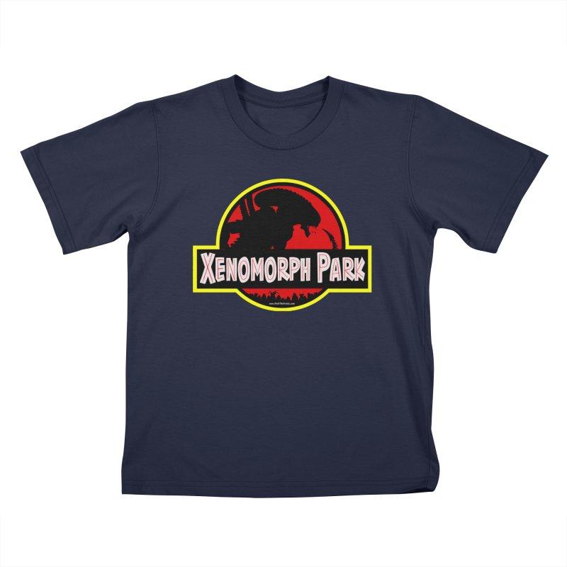 Xenomorph Park Kids T-Shirt by bobtheTEEartist's Artist Shop