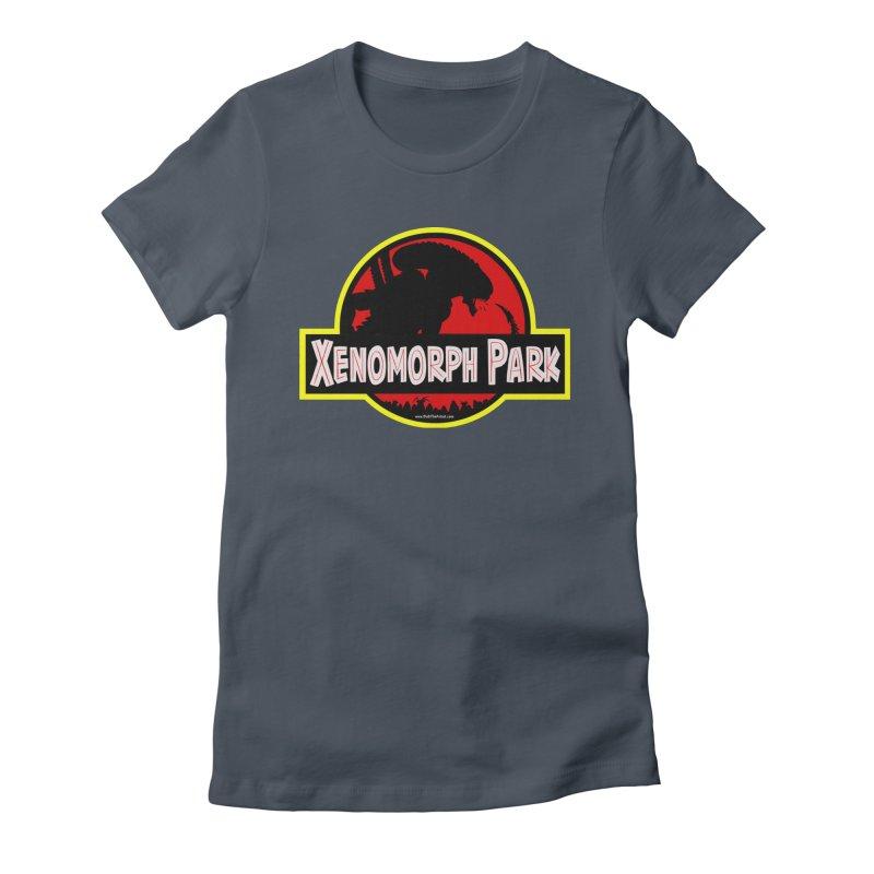 Xenomorph Park Women's T-Shirt by bobtheTEEartist's Artist Shop