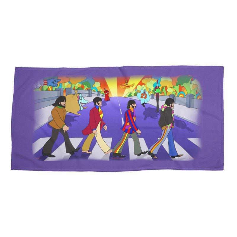 Pepperland Accessories Beach Towel by bobtheTEEartist's Artist Shop