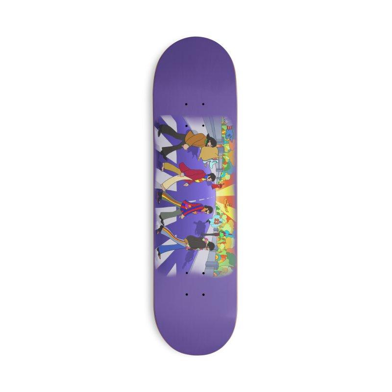 Pepperland Accessories Skateboard by bobtheTEEartist's Artist Shop