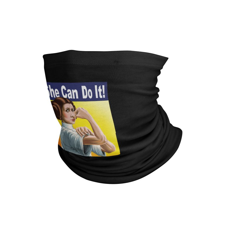 She Can Do It: Leia Accessories Neck Gaiter by bobtheTEEartist's Artist Shop