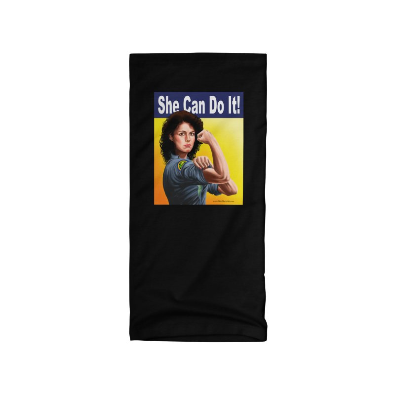 She Can Do It: Ripley Accessories Neck Gaiter by bobtheTEEartist's Artist Shop