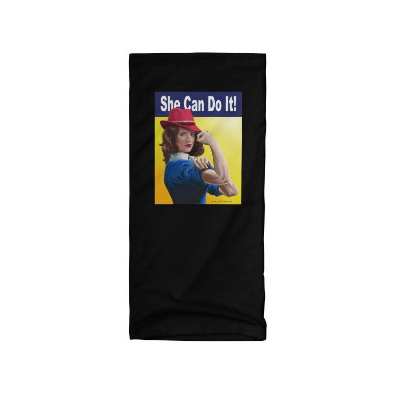 She Can Do It: Agent Carter Accessories Neck Gaiter by bobtheTEEartist's Artist Shop