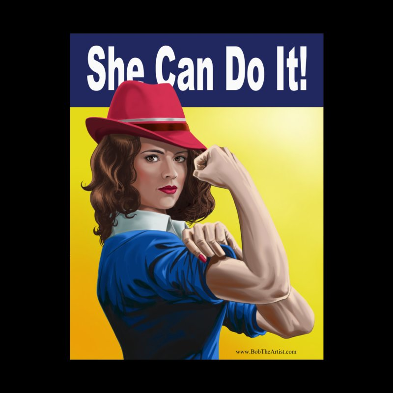 She Can Do It: Agent Carter Home Blanket by bobtheTEEartist's Artist Shop