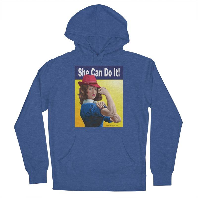 She Can Do It: Agent Carter Men's Pullover Hoody by bobtheTEEartist's Artist Shop