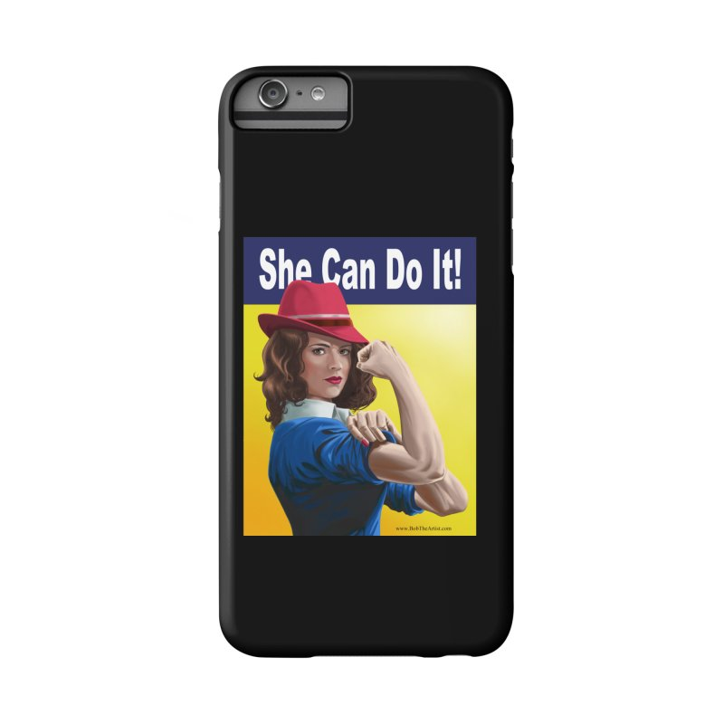She Can Do It: Agent Carter Accessories Phone Case by bobtheTEEartist's Artist Shop