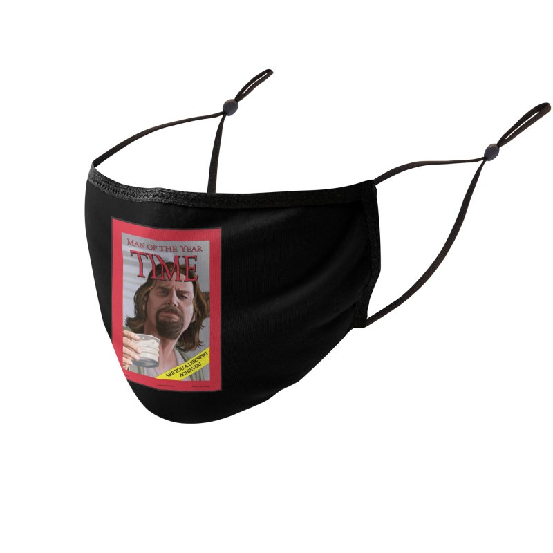 The Dude Accessories Face Mask by bobtheTEEartist's Artist Shop