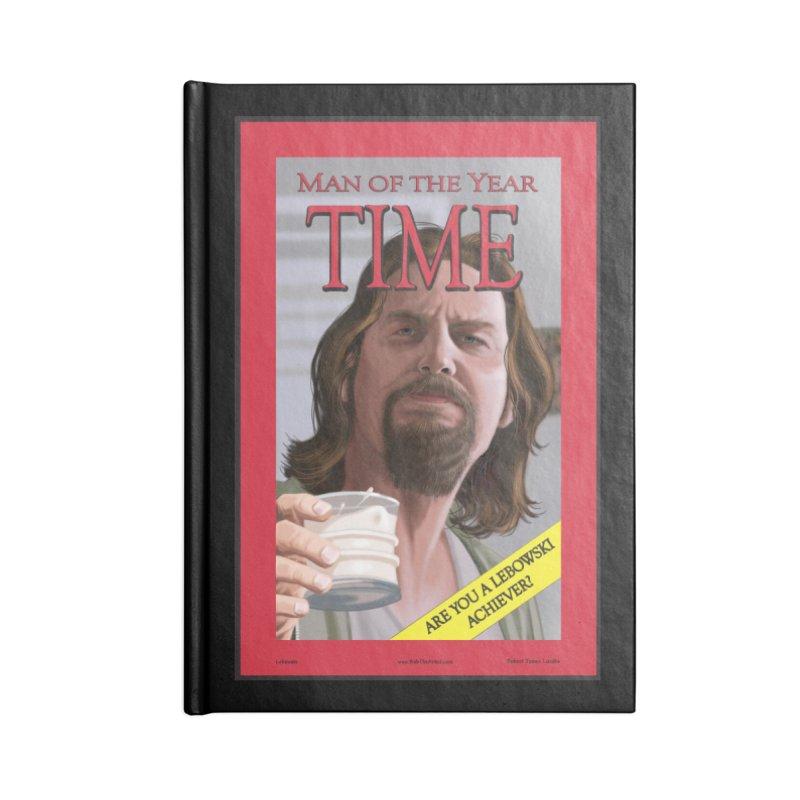 The Dude Accessories Notebook by bobtheTEEartist's Artist Shop