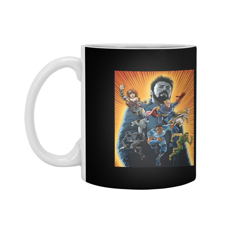 The Seven (plus one) Accessories Mug by bobtheTEEartist's Artist Shop