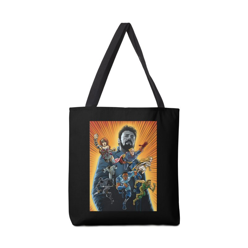 The Seven (plus one) Accessories Bag by bobtheTEEartist's Artist Shop
