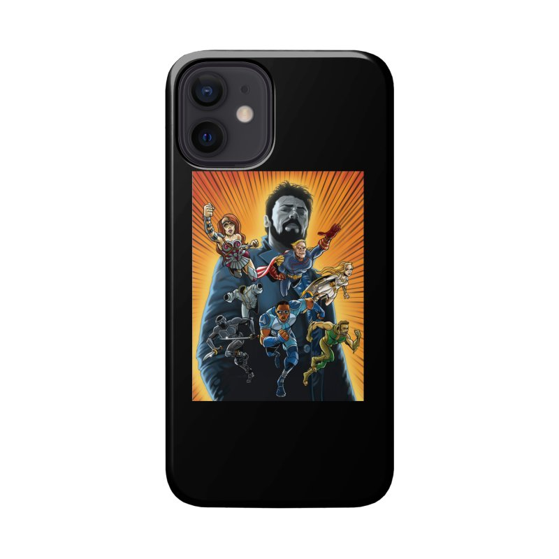 The Seven (plus one) Accessories Phone Case by bobtheTEEartist's Artist Shop