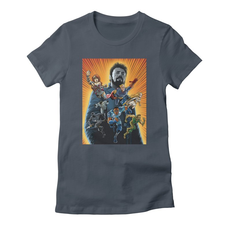 The Seven (plus one) Women's T-Shirt by bobtheTEEartist's Artist Shop