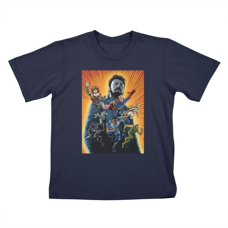 The Seven (plus one) Kids T-Shirt by bobtheTEEartist's Artist Shop