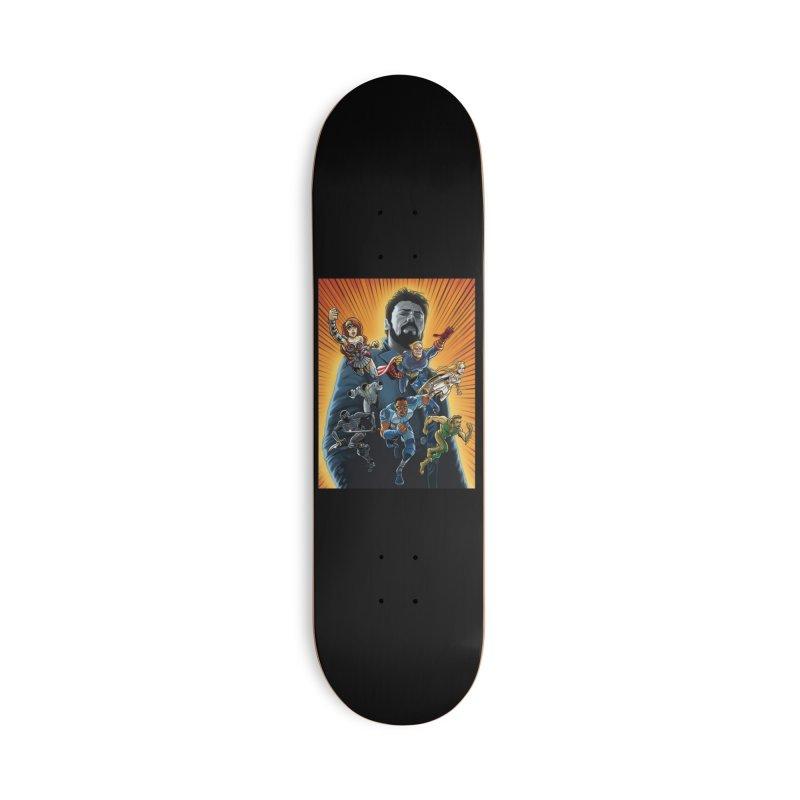The Seven (plus one) Accessories Skateboard by bobtheTEEartist's Artist Shop