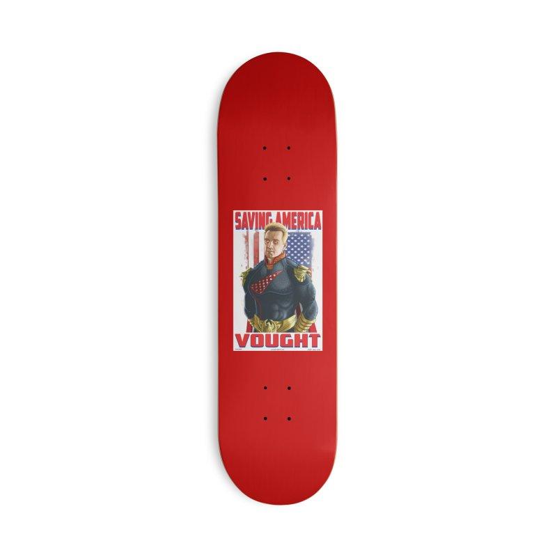 homelander Accessories Skateboard by bobtheTEEartist's Artist Shop