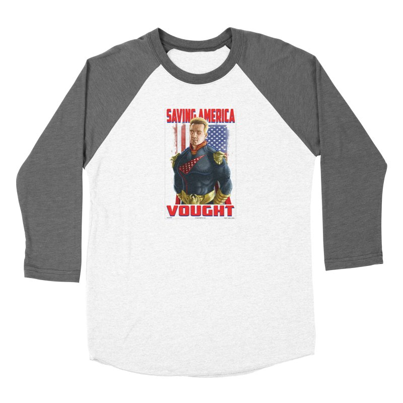 homelander Women's Longsleeve T-Shirt by bobtheTEEartist's Artist Shop