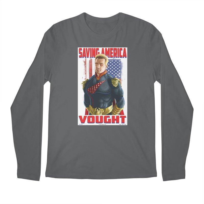 homelander Men's Longsleeve T-Shirt by bobtheTEEartist's Artist Shop