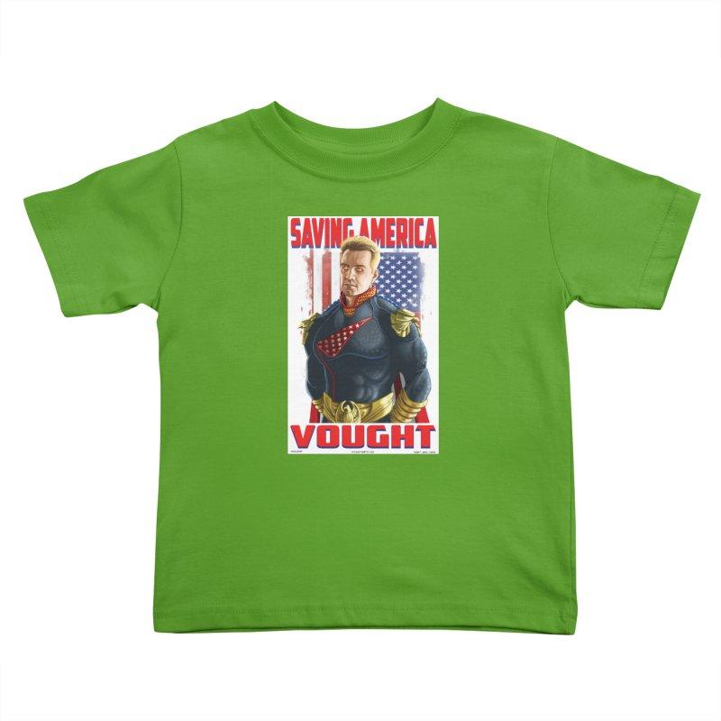 homelander Kids Toddler T-Shirt by bobtheTEEartist's Artist Shop