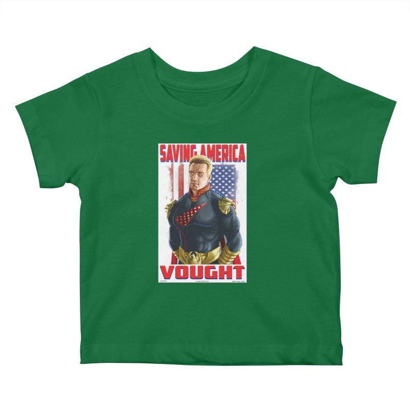 homelander Kids Baby T-Shirt by bobtheTEEartist's Artist Shop