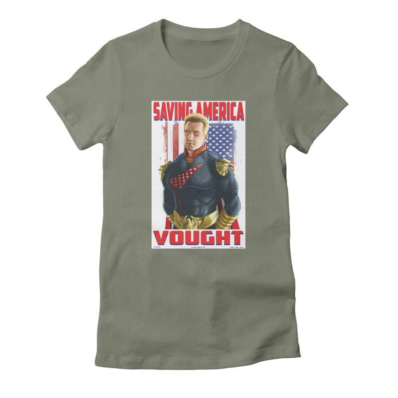 homelander Women's T-Shirt by bobtheTEEartist's Artist Shop