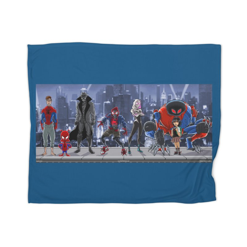 The Spidey gang Home Blanket by bobtheTEEartist's Artist Shop