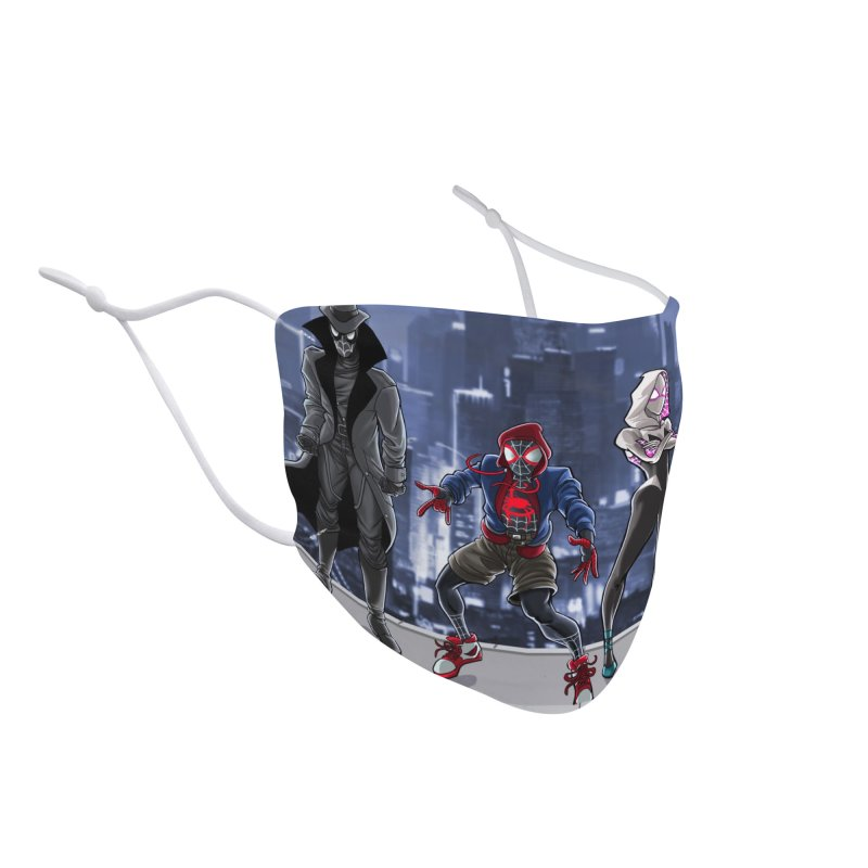 The Spidey gang Accessories Face Mask by bobtheTEEartist's Artist Shop