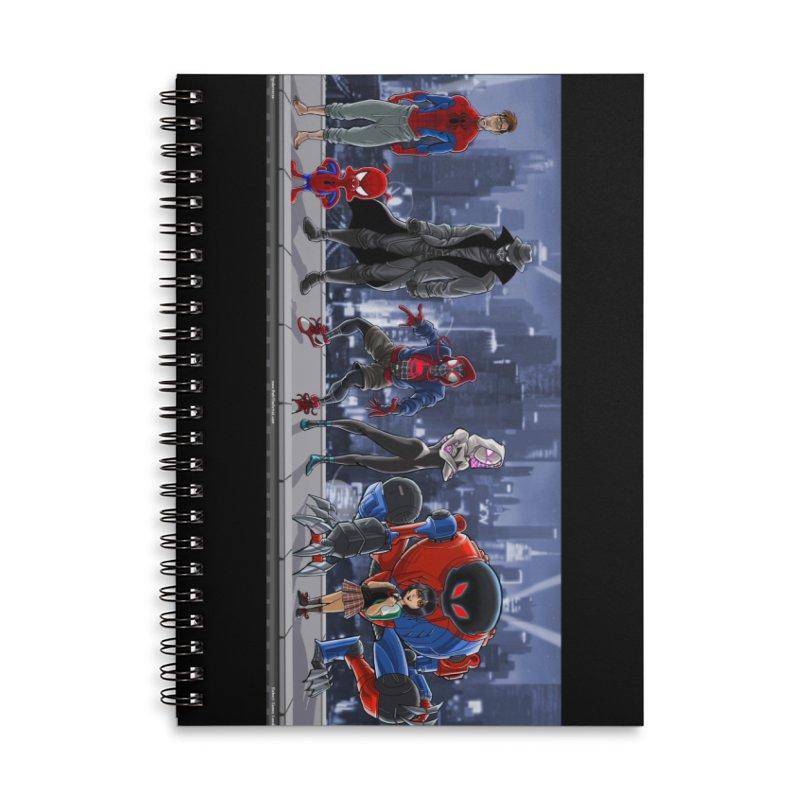 The Spidey gang Accessories Notebook by bobtheTEEartist's Artist Shop