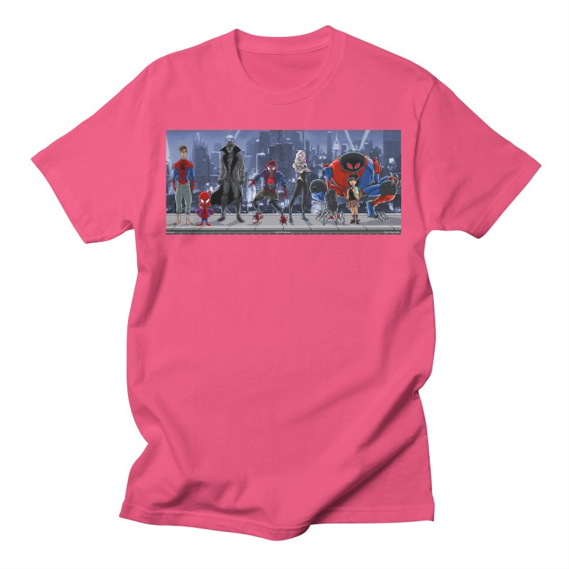 The Spidey gang Men's T-Shirt by bobtheTEEartist's Artist Shop