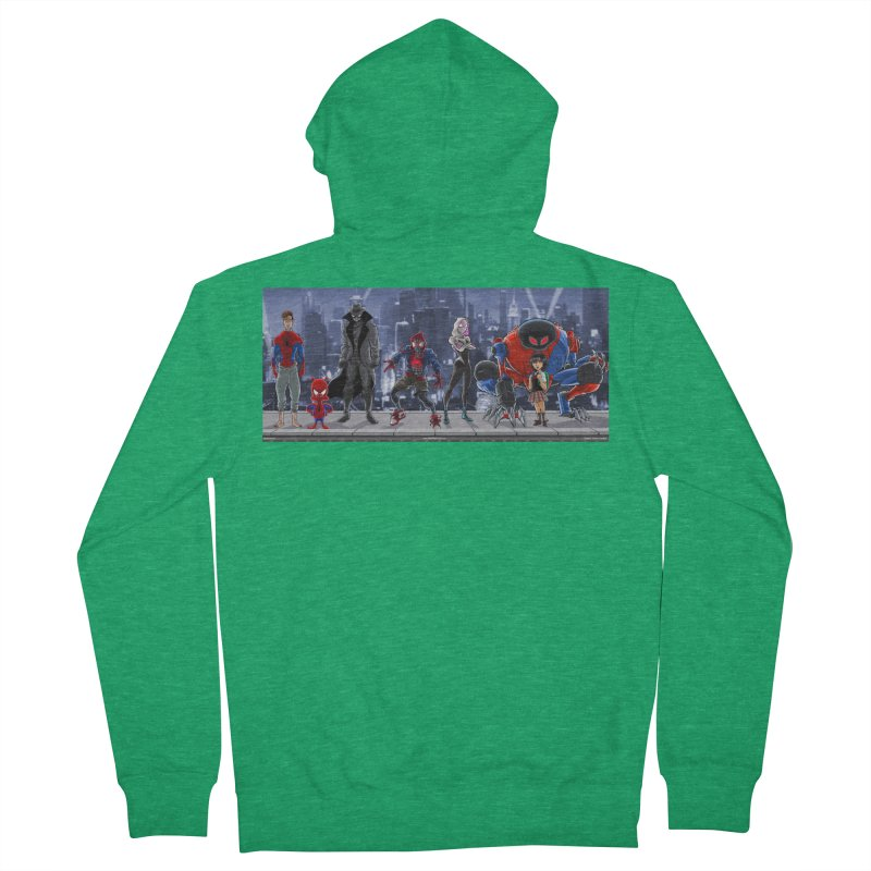 The Spidey gang Men's Zip-Up Hoody by bobtheTEEartist's Artist Shop