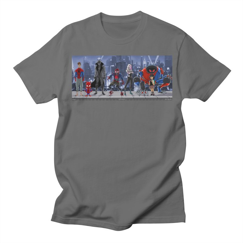 The Spidey gang Men's T-Shirt by bobtheTEEartist's Artist Shop