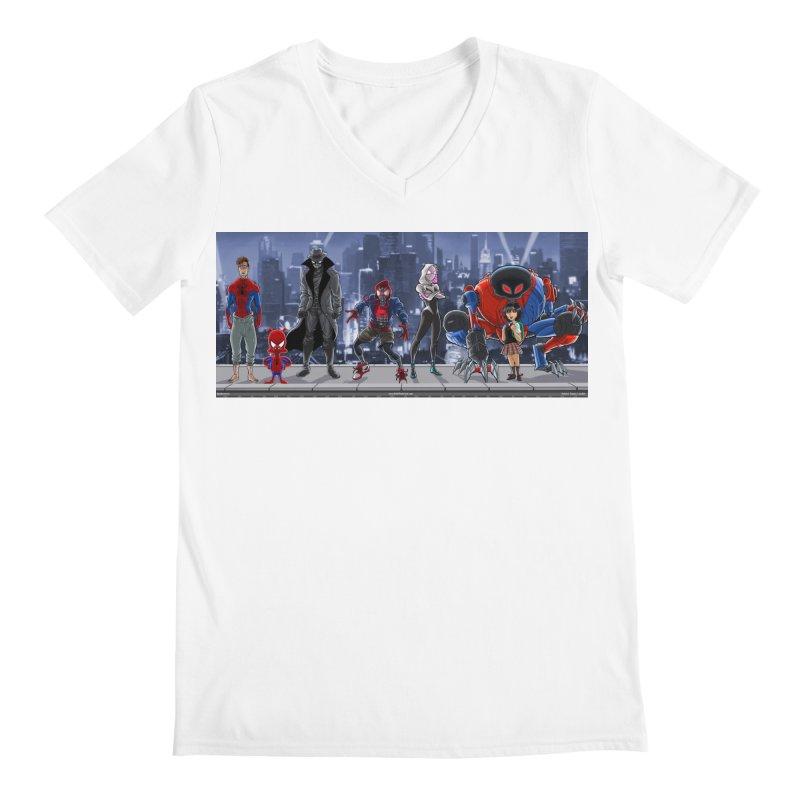 The Spidey gang Men's V-Neck by bobtheTEEartist's Artist Shop