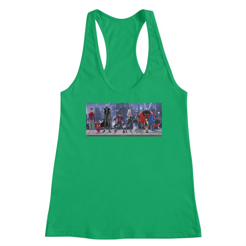 The Spidey gang Women's Tank by bobtheTEEartist's Artist Shop