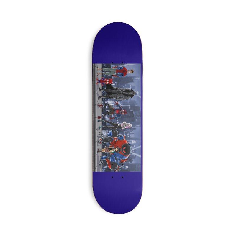 The Spidey gang Accessories Skateboard by bobtheTEEartist's Artist Shop