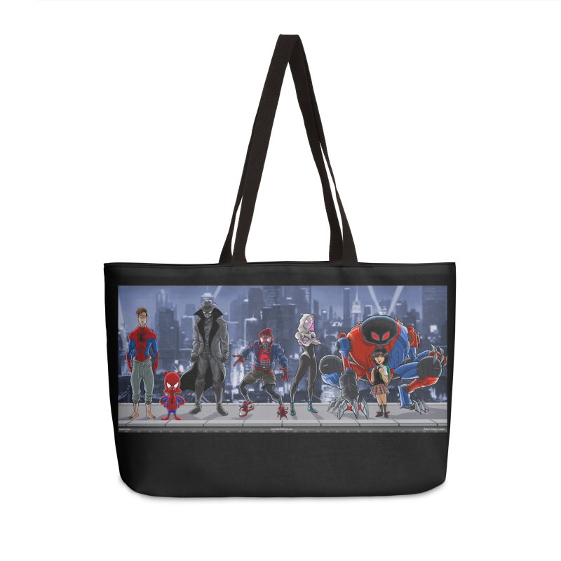 The Spidey gang Accessories Bag by bobtheTEEartist's Artist Shop