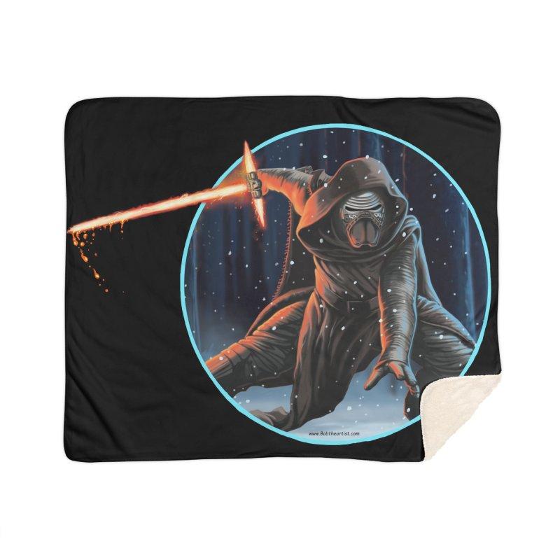 Kylo Ren Home Blanket by bobtheTEEartist's Artist Shop