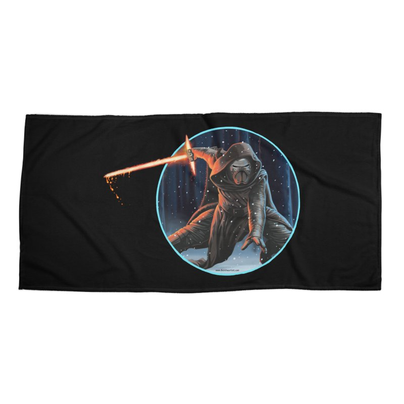 Kylo Ren Accessories Beach Towel by bobtheTEEartist's Artist Shop
