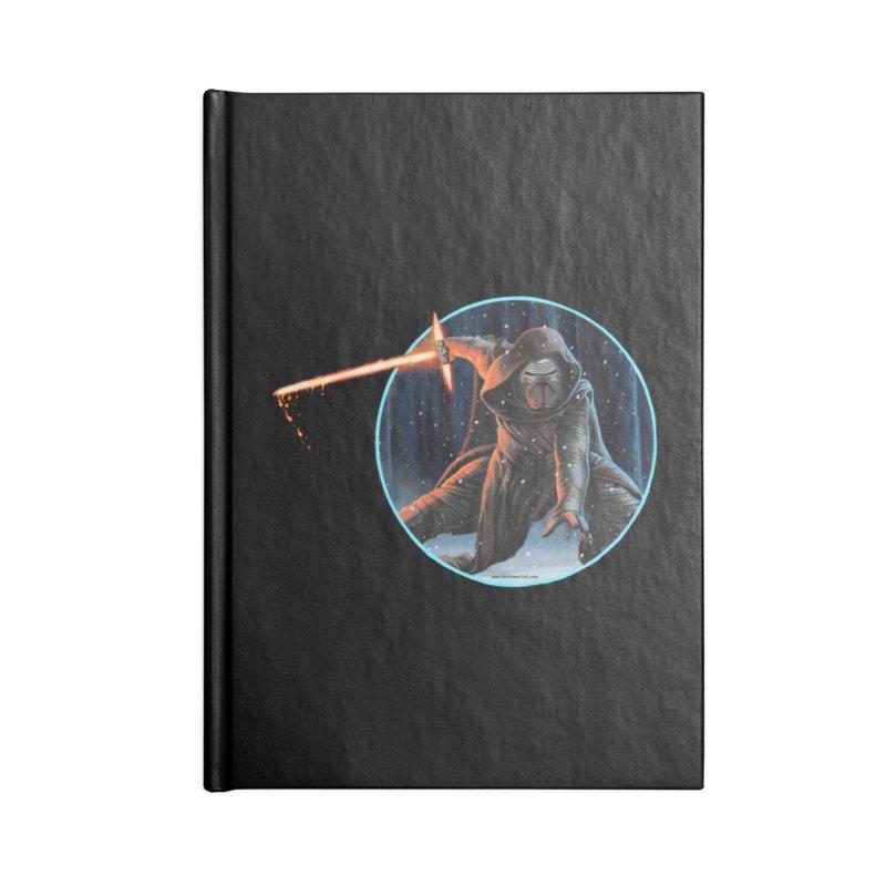 Kylo Ren Accessories Notebook by bobtheTEEartist's Artist Shop