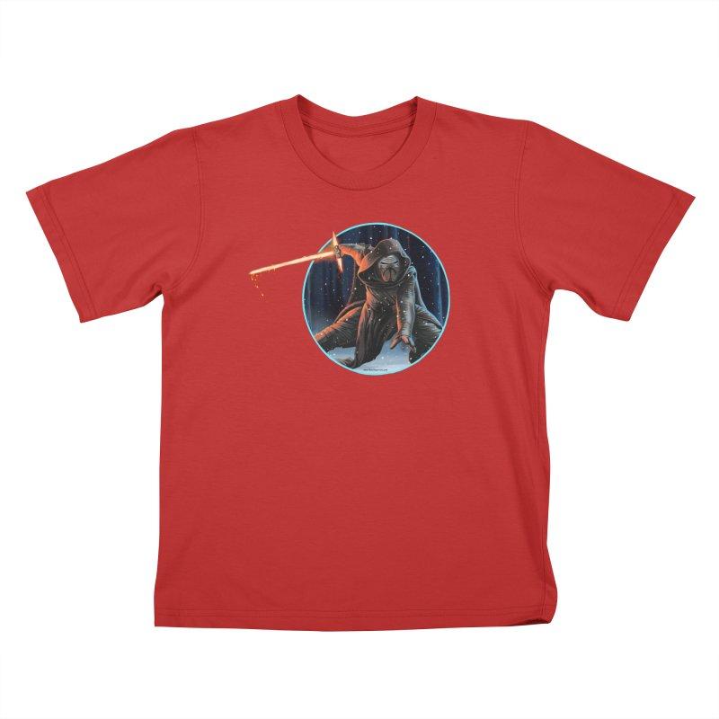 Kylo Ren Kids T-Shirt by bobtheTEEartist's Artist Shop