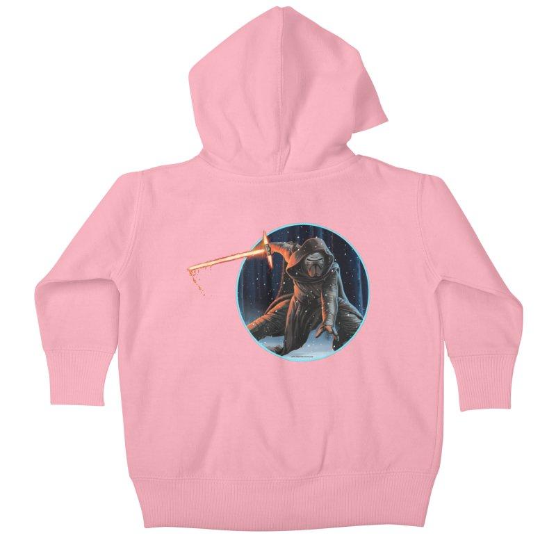 Kylo Ren Kids Baby Zip-Up Hoody by bobtheTEEartist's Artist Shop