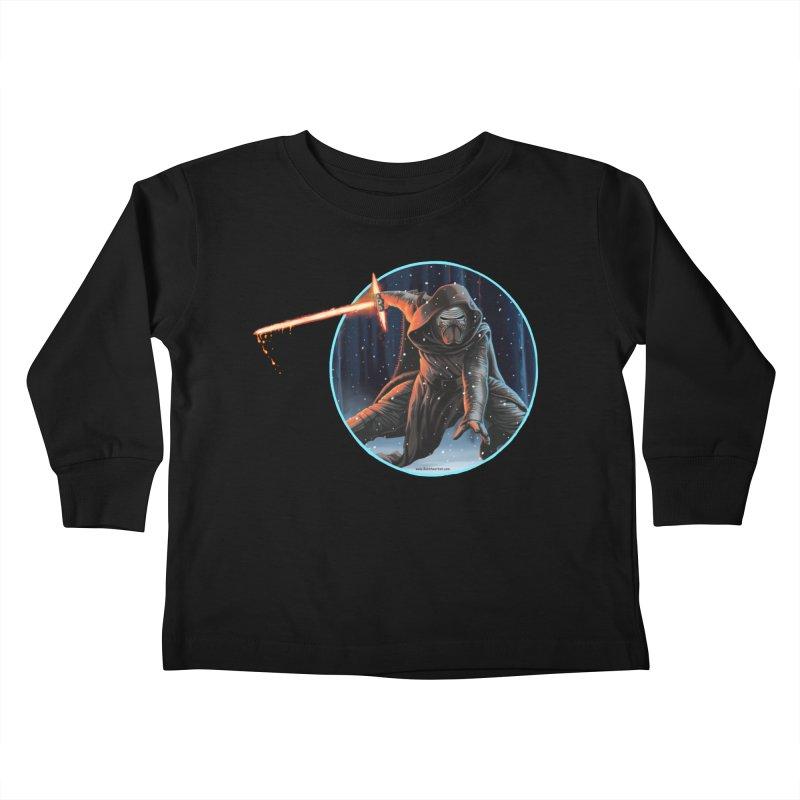 Kylo Ren Kids Toddler Longsleeve T-Shirt by bobtheTEEartist's Artist Shop